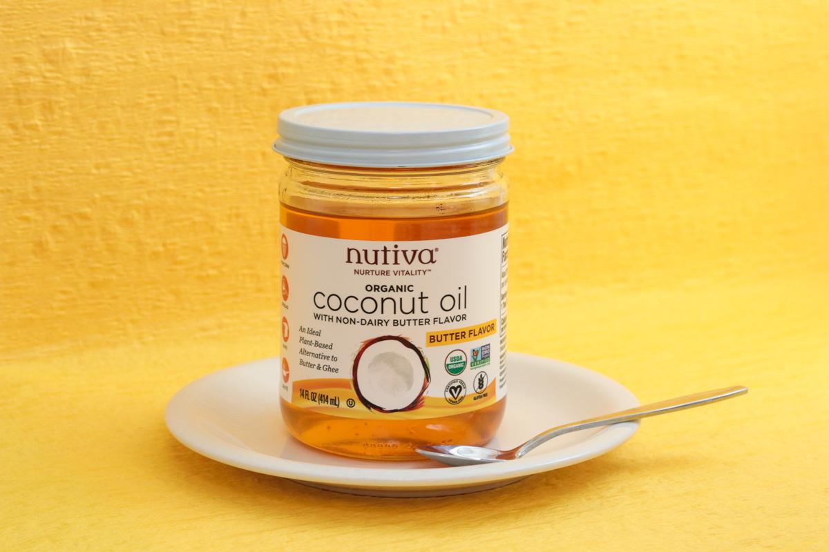nutivaココナッツオイルバター風味