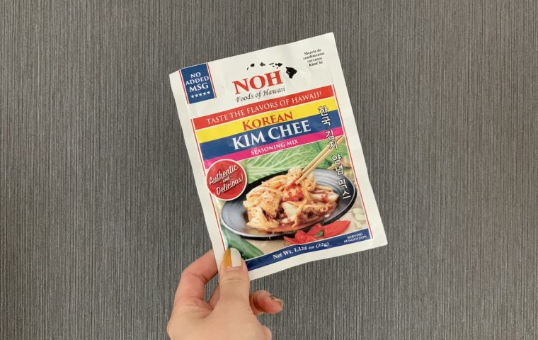 NOH Foods of Hawaii, Korean Kim Chee Seasoning Mix
