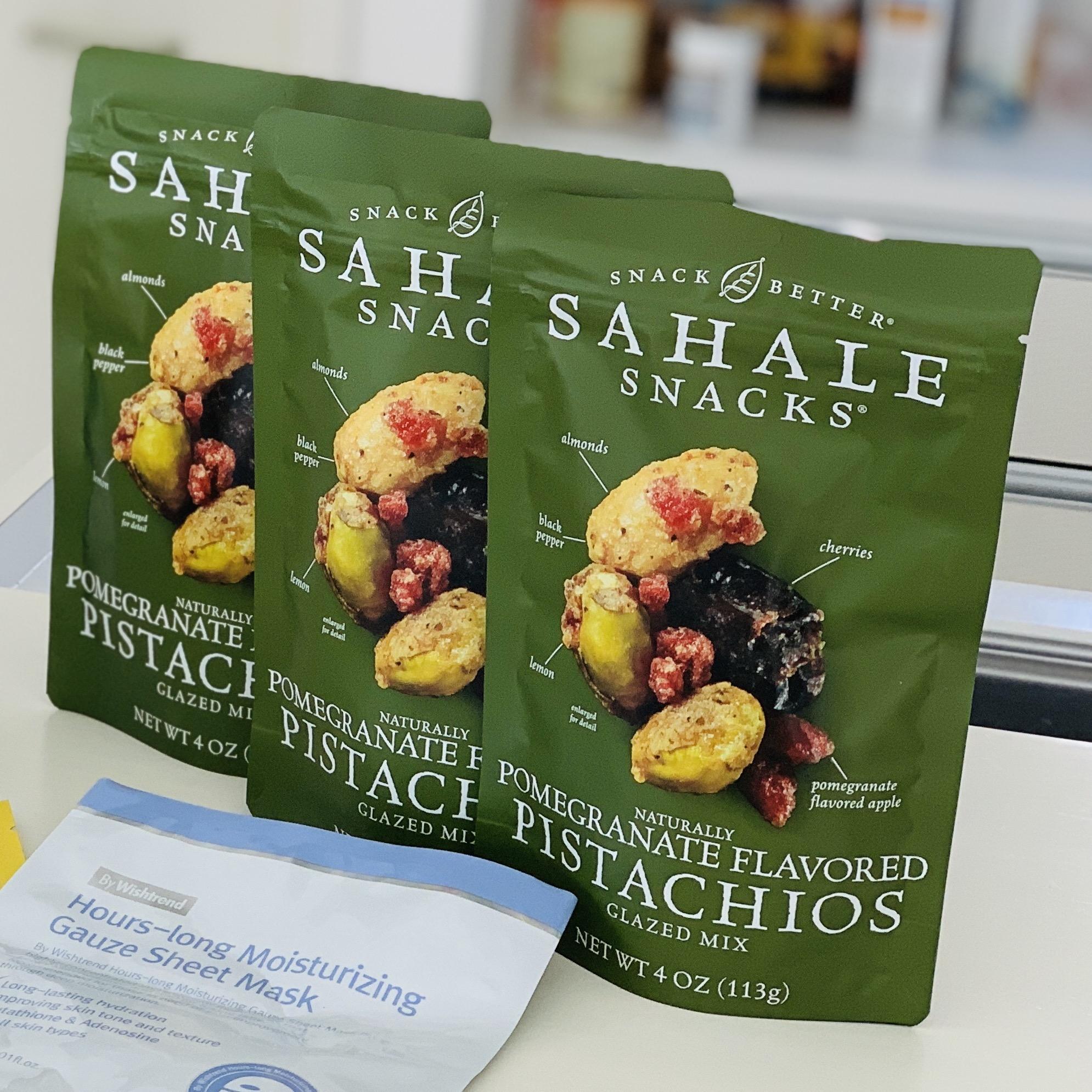 Sahale Snacks 天然ザクロ風味のピスタチ