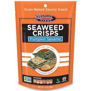 Seapoint Farms, 海藻ポテトチップス、カボチャごま